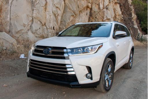 2017 Toyota Highlander And Hybrid Review First Drive News Cars