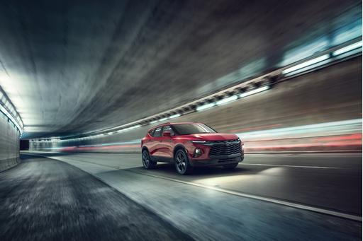 Blazer Is Back! Chevrolet Rekindles Mid-'90s Flame With 2019 Blazer