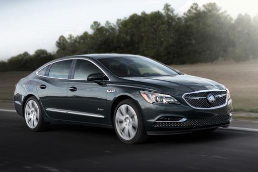 2018 Buick LaCrosse Gets Upscale Avenir Treatment