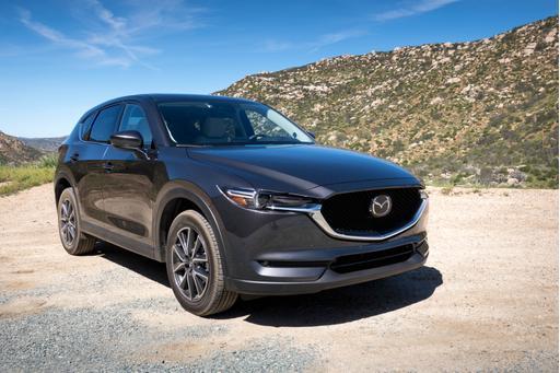 2017 Mazda CX-5 Gets Four Stars in Crash Tests