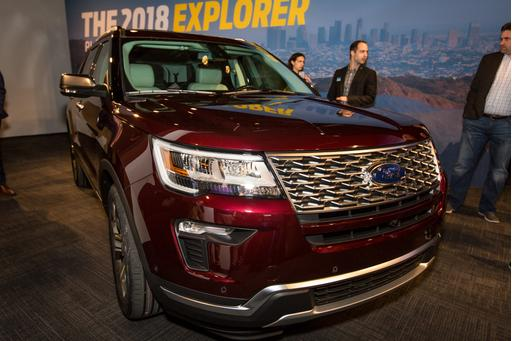 2018 Ford Explorer Preview