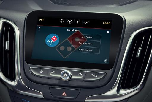 Cheese, Cheese Me: Domino's Serves Up In-Car Pizza Ordering