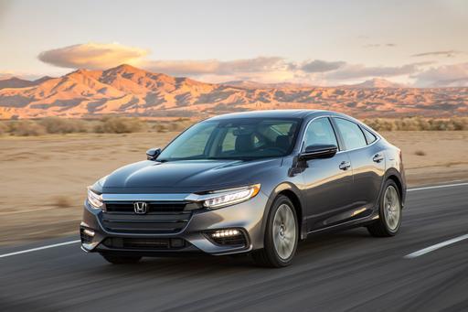 Eat Your Heart Out, Sammy Hagar: 2019 Honda Insight Can Drive 55 ... MPG
