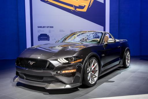 Ford's Corral Full of Mustangs at SEMA