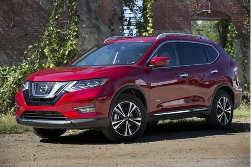 2017 Nissan Rogue Hybrid Starts at $27,180