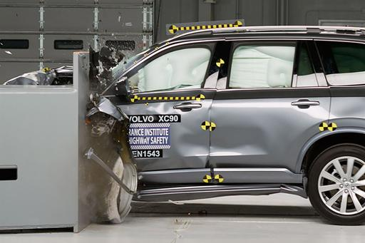 2016 Volvo XC90 Named IIHS Top Safety Pick Plus