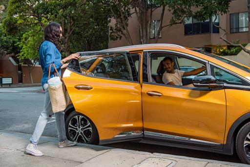GM's Maven Gig Expands Ride-Sharing Reach