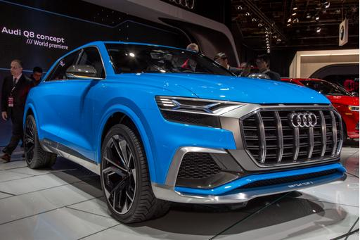 Audi Q8 Concept Review: Photo Gallery