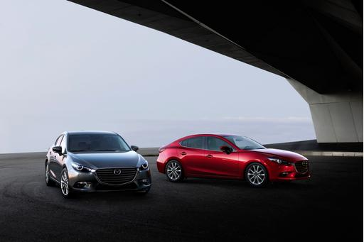 Mazda Releases First Photos of 2017 Mazda3