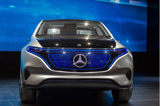 Mercedes-Benz Generation EQ Concept Review: Photo Gallery