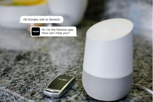 You Can Talk to Your Genesis With Google's Assistant