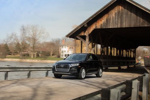 2018 Audi Q5: Luxury Compact SUV Challenge Gallery