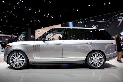 2018 Range Rover SVAutobiography Writes Its Own $200K Ticket
