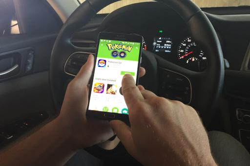 Pokemon Go a No-Go Behind the Wheel, Insist Safety Advocates