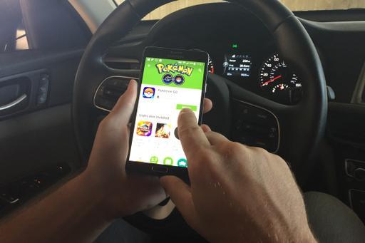 Add 'Pokemon Go' to Driving Distractors List