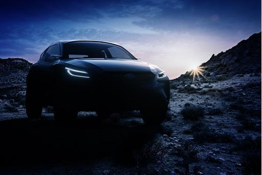 Subaru Viziv Adrenaline Concept Gets Pumped for Geneva