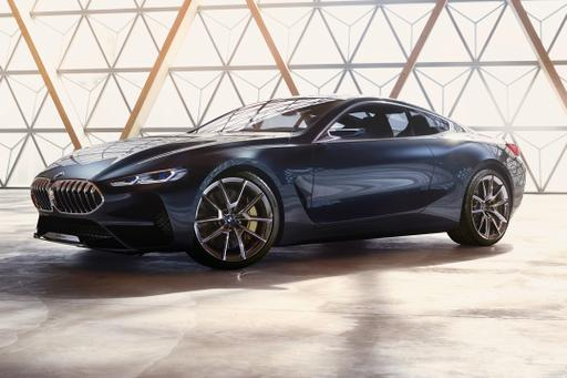 BMW Concept 8 Series Preview