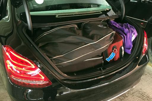 What Can You Fit in a Mercedes-Benz C-Class Trunk?