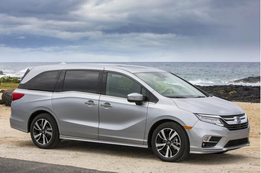 2018 Honda Odyssey Starts at $30,890