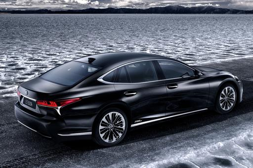 Lexus Plans Geneva Debut for 2018 LS 500h