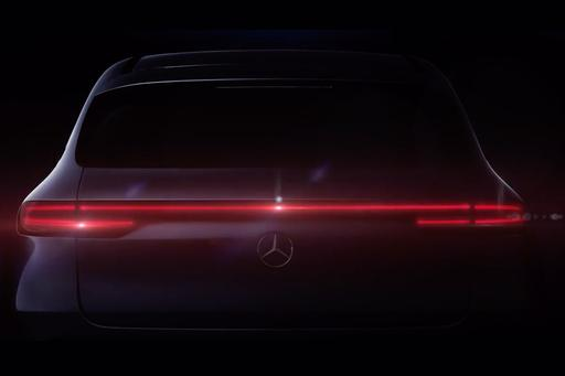 Mercedes Continues EQ Tease With Peek at Mystery Model's Rear