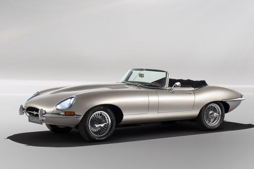 It's Wrong! Jaguar's Retro E-Type Conversions Fuse Nostalgic, Electric