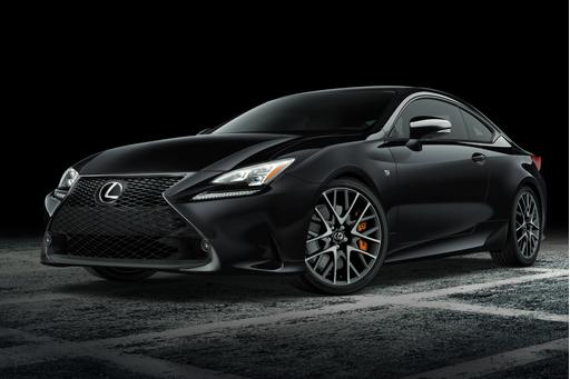 The Car's the Noir: 2018 Lexus RC F Sport Black Line Bound for NYC