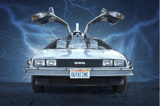 DeLorean Comes Back for the Future