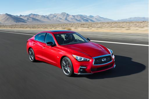 2018 Infiniti Q50 Gets Small Updates, Small Price Hike