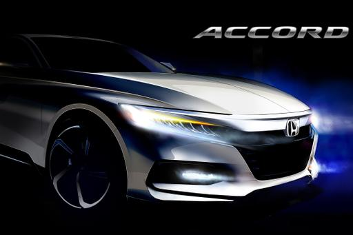 Redesigned 2018 Honda Accord Debut Set for July