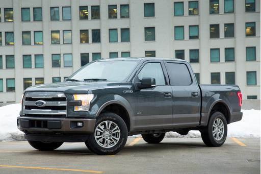 2015 Ford F-150: Car Seat Check
