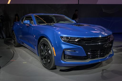 Chevrolet Unveils 50th Anniversary Camaro At Woodward