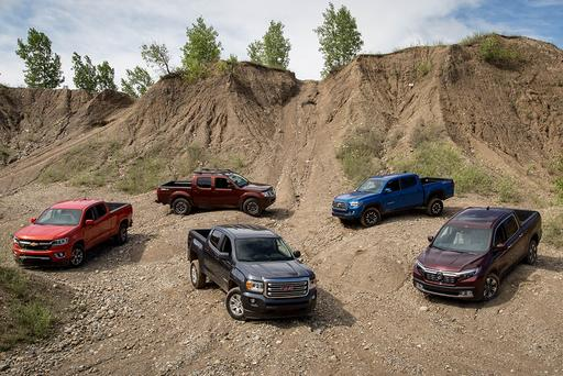 What's the Best Midsize Pickup for 2016? Results May Surprise You