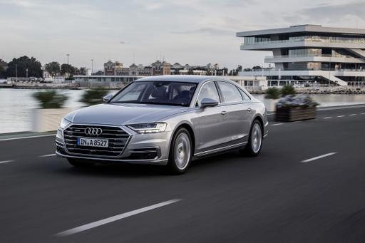 Here's the Rub: New Audi A8 Can Massage Your Feet But Not Drive Itself