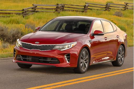 2018 Kia Optima Upgrades Yield Top Crash Rating