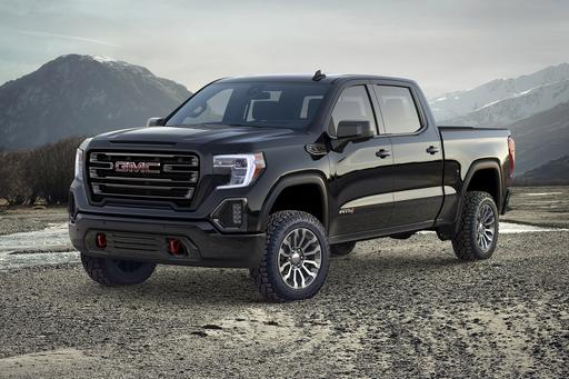 GMC Reveals All-New AT4 Off-Road Package for All-New 2019 Sierra 1500