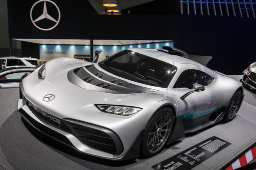 Mercedes-AMG Project One: An F1 Racecar for the Road