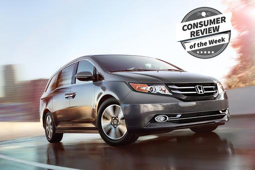 Consumer Review of the Week: 2016 Honda Odyssey