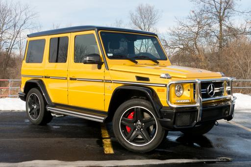 2018 Mercedes-AMG G63: Yellow, Is It 'G' You're Looking For?