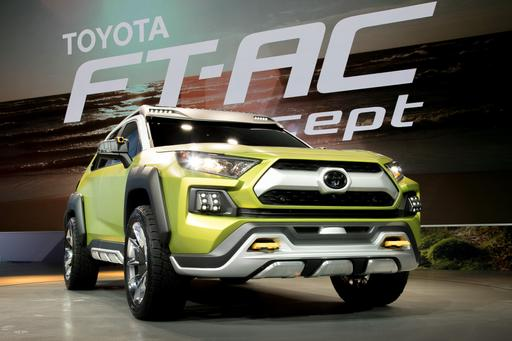 Is Toyota FT-AC Concept in L.A. a Future RAV4?