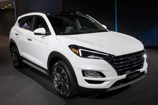 Photo Gallery: 2019 Hyundai Tucson Is Nipped and Tucked