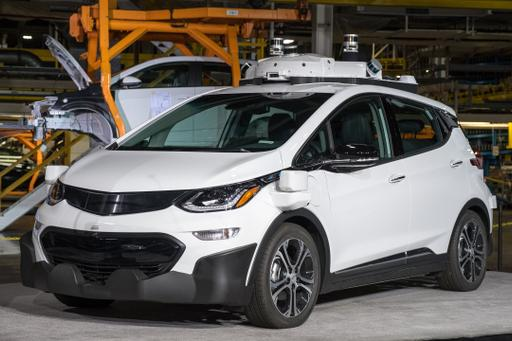 GM Uses Assembly Line for Self-Driving Chevy Bolt EVs
