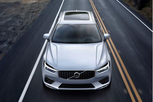 Volvo Unveils New XC60 in Geneva