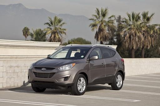 2010-2015 Hyundai Tucson 4WD Issue