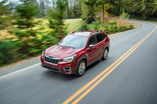 Subaru Gives 2019 Forester More Style and Standard Safety