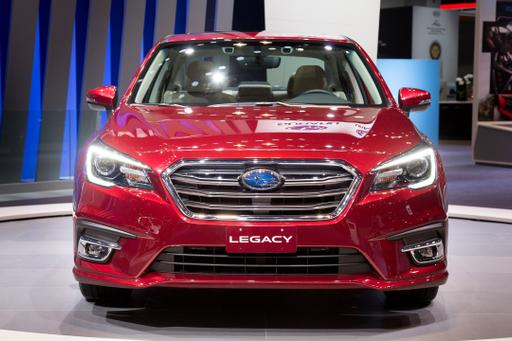 2018 Subaru Legacy Starts $240 More Than 2017