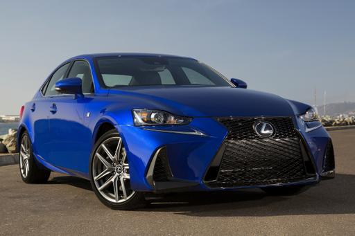 2018 Lexus IS: What's Changed