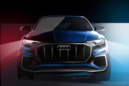 Audi Teases Q8 SUV Concept Ahead of Detroit