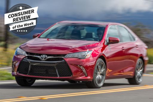 Consumer Review of the Week: 2017 Toyota Camry