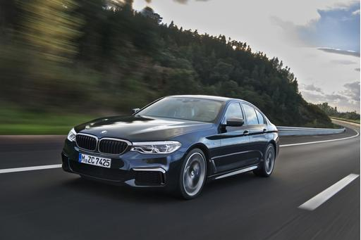 2017 BMW 5 Series to Bow at 2017 Detroit Auto Show